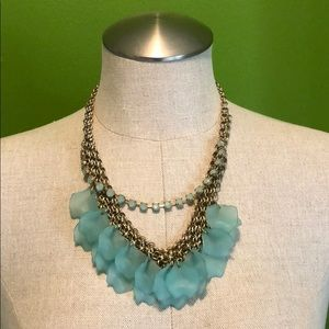 Anthropologie Sea Glass Necklace